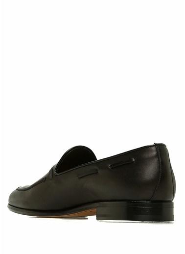 Moreschi Deri Loafer Ayakkabı Siyah